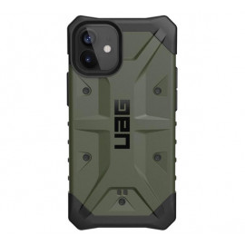 UAG Pathfinder - Coque iPhone 12 Mini Rigide - Vert Olive