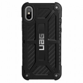 UAG Coque Antichoc Monarch Carbon iPhone X / XS noir