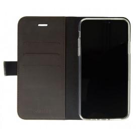 Valenta Booklet Classic Luxe - Étui iPhone 11 Pro Max portefeuille - Marron foncé