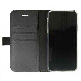 Valenta Booklet Classic Luxe - Étui iPhone 11 Pro Max portefeuille - Noir