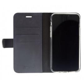 Valenta Booklet Classic Luxe - Étui iPhone 11 Pro Max portefeuille - Bleu