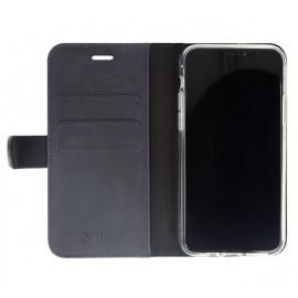Valenta Booklet Classic Luxe - Étui iPhone 11 portefeuille - Bleu