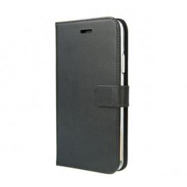 Valenta Booklet Gel Skin En cuir - Étui iPhone 11 Pro Portefeuille - Noir