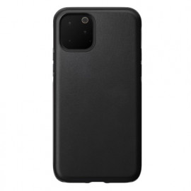 Nomad Rugged Coque iPhone 11 Pro En cuir Noire